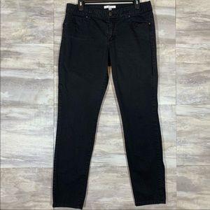 CAbi Black Bree Skinny Jeans style 798 size 10